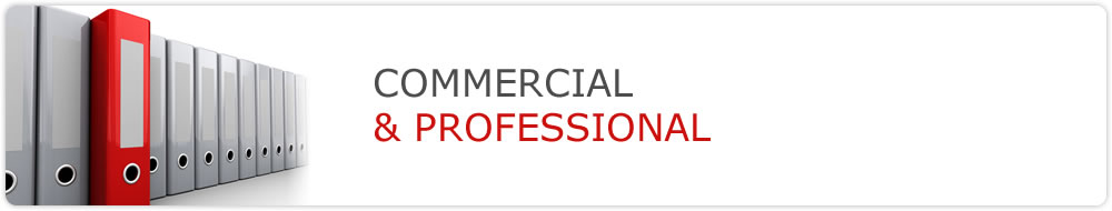 Commercial and professional