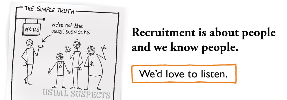 Recruitment is about people - and we know people.