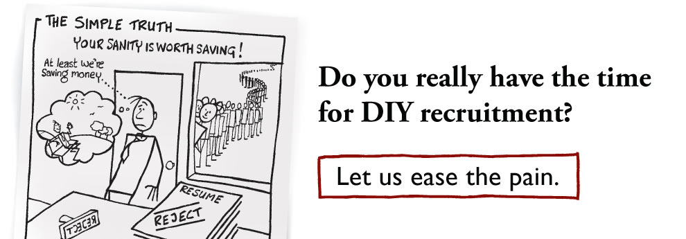 Do you really have the time for DIY recruitment?